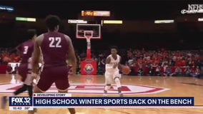 Gov. Pritzker says high school basketball is back on hold, IHSA plans to start season in November