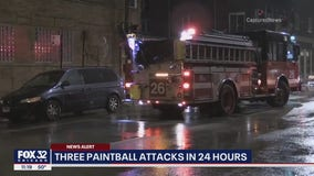Paintball gun attacks on the rise in Chicago