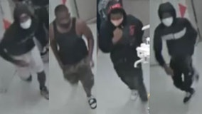 Police seeking individuals wanted for looting in the Loop