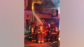 Firefighters battle blaze on NW Side