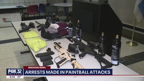 6 arrested after 7 paintball shootings reported within 24 hours in Little Village, Lawndale