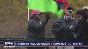 Families of police brutality victims host voter rally in Grant Park
