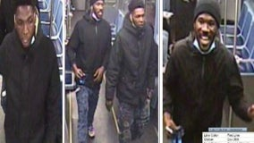 Men wanted for robbery on Red Line