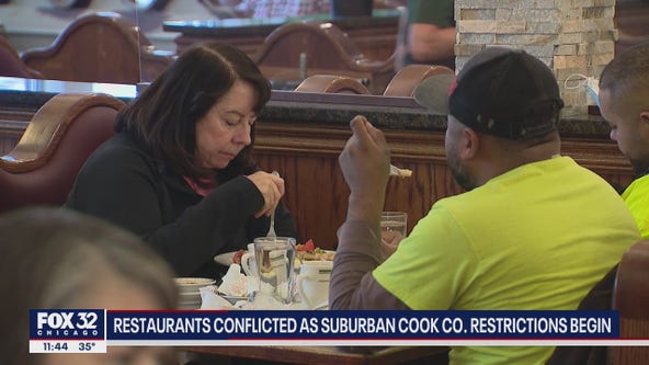 New COVID restrictions in suburban Cook County take effect Wednesday