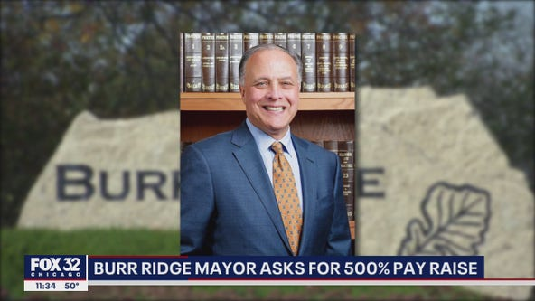 Burr Ridge mayor asks residents for salary increase amid pandemic