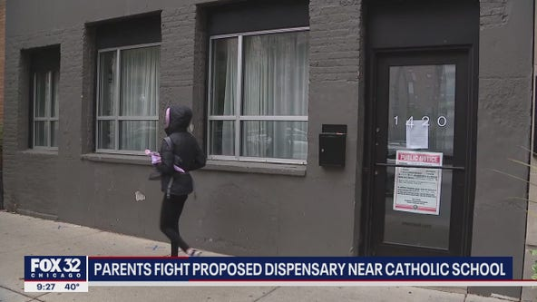 Controversy surrounds pot dispensary opening up near Chicago school