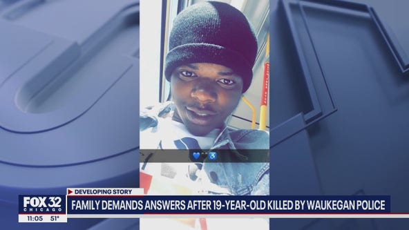 Family demands answers after their son was shot, killed by Waukegan police