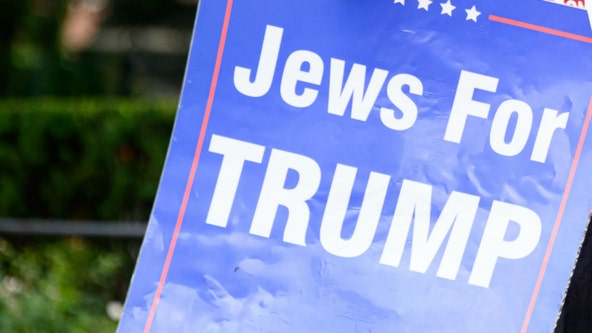 Seven taken into custody as fights break out between 'Jews for Trump' and Trump opponents