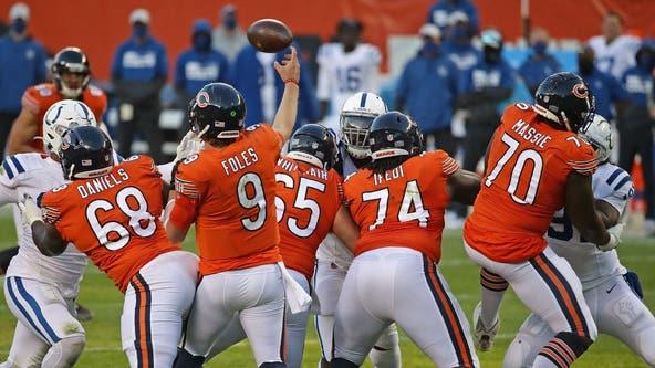 Foles, Bears still adjusting as offense struggles to click