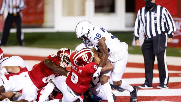 Indiana beats Penn State 36-35 in overtime