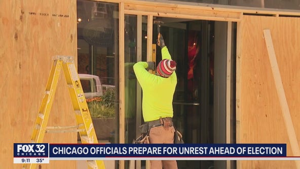 Chicago officials prepare for unrest ahead of election