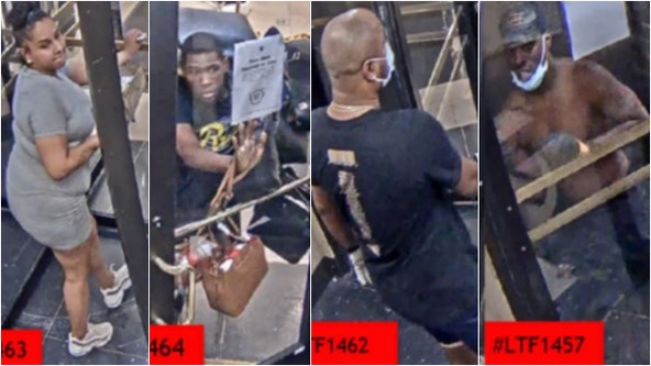 Dozen more sought in downtown looting: police