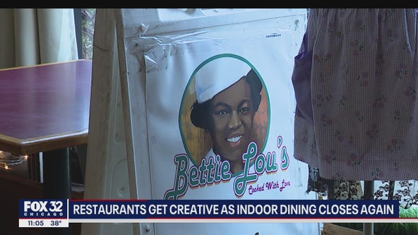 'We're gonna do whatever we can': Chicago restaurants try to stay afloat as indoor dining shuts down