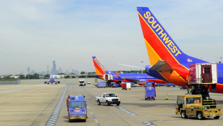 Southwest Airlines at Midway Airport
