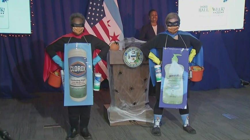Chicago OKs trick-or-treating on Halloween with coronavirus precautions
