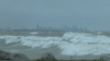 Waves up to 14 feet high expected to flood lakeshore through Tuesday