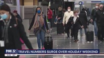 Holiday weekend brings surge of travelers amid the pandemic