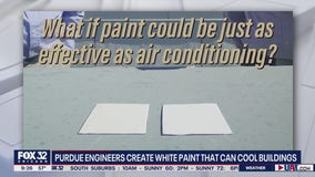 Purdue engineers create white paint capable of significantly cooling buildings