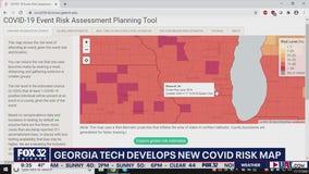 Georgia Tech develops COVID-19 risk map