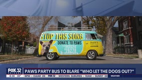 PAWS Chicago launches 'Who Let The Dogs Out?' party bus