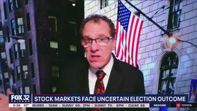 Stock market up in the air as election plays out