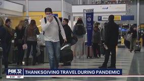 Americans risk traveling over Thanksgiving despite warnings