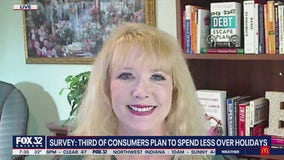 Survey: Third of consumers plan to spend less over holidays