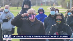Hundreds of veterans, family members gather in Orland Park to honor those who've served