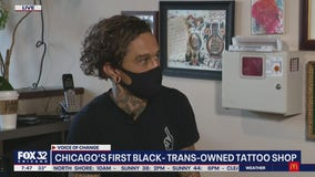 Wish Me Luck Tattoo is Chicago's first Black- and trans-owned tattoo shop