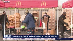 Black McDonald's owners give away free turkeys for 20th straight year