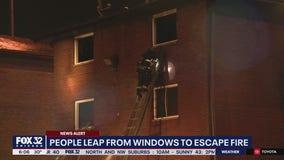 Woman dies in Lansing apartment fire