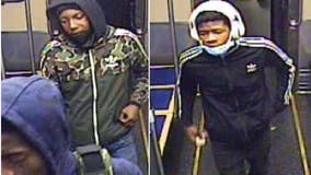 Police search for suspects in Pink Line robbery