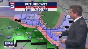 6 p.m. forecast for Chicagoland on Nov. 23