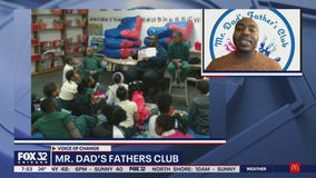 Mr. Dad's Father's Club engages fathers in their community through the power of reading