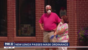 New Lenox now requiring people to mask up inside businesses