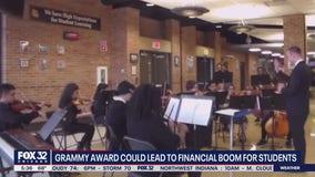 Blue Island music teacher hopes Grammy could vault school's band program to the next level