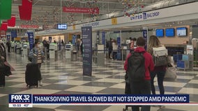 O'Hare Airport fairly empty on weekend before Thanksgiving as CDC begs people to stay home