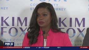Kim Foxx claims victory in Cook County State's Attorney race