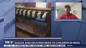 Oak Forest nonprofit builds, delivers beds to children in need