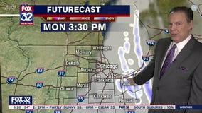 Monday morning forecast for Chicagoland