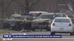 Person arrested after police chase in western suburbs