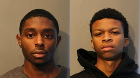 Pair charged in Chicago paintball gun attack