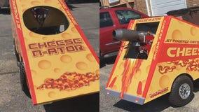 Lake Geneva man puts jet-powered cheese wedge up for sale