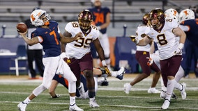 Minnesota beats Illinois, which was down to fourth string quarterback due to COVID