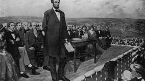Handwritten copy of President Abraham Lincoln's Gettysburg Address on display this week