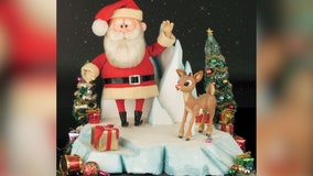 Rudolph, Santa figures from classic 'Rudolph the Red Nosed Reindeer,' sell for whopping $368,000 at auction