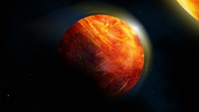 Scientists discover hell-like planet with oceans of lava, perpetual sunlight and rock rain