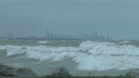 It will be too dangerous to swim in or boat on Lake Michigan on Sunday, says National Weather Service