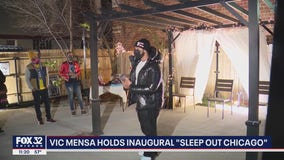 Chicago rapper, actor Vic Mensa holds inaugural 'Sleep Out Chicago'