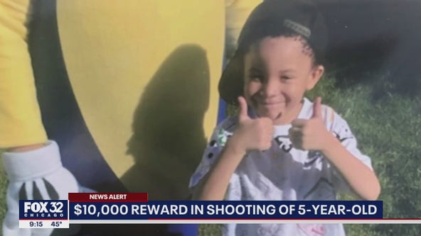 $10k reward for info in shooting of 5-year-old Chicago boy